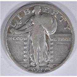 1927-S STANDING LIBERTY QTR VF