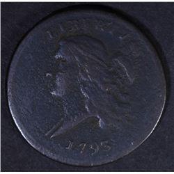 1793 LIBERTY CAP HALF CENT  VF/XF