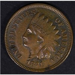 1871 INDIAN HEAD CENT  AU