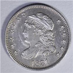1831 CAPPED BUST HALF DIME  AU+