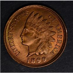 1899 INDIAN CENT, GEM BU RB