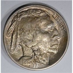 1913 TYPE-2 BUFFALO NICKEL, GEM BU