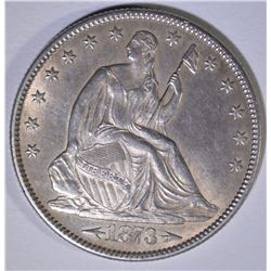 1873 ARROWS SEATED LIBERTY HALF DOLLAR