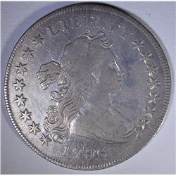 1796 DRAPED BUST DOLLAR  VF+