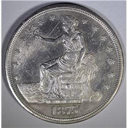 1875-CC TRADE DOLLAR  BU