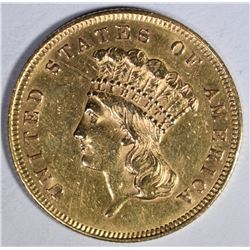 1859 $3 GOLD  BU