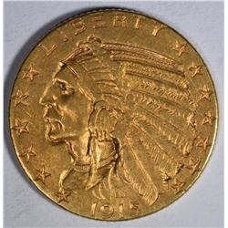1915-S $5 GOLD INDIAN HEAD