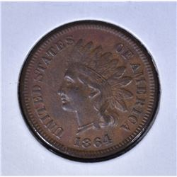 1864 L INDIAN HEAD CENT  XF