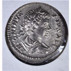 211-217AD SILVER DENARIUS