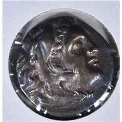 336-323BC SILVER DRACHM ALEXANDER III (THE GREAT)