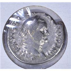 69-79AD SILVER DENARIUS
