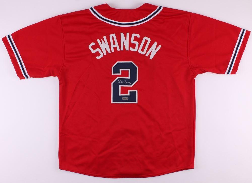 86b6de7aa Image 1   Dansby Swanson Signed Braves Jersey (Radtke COA)