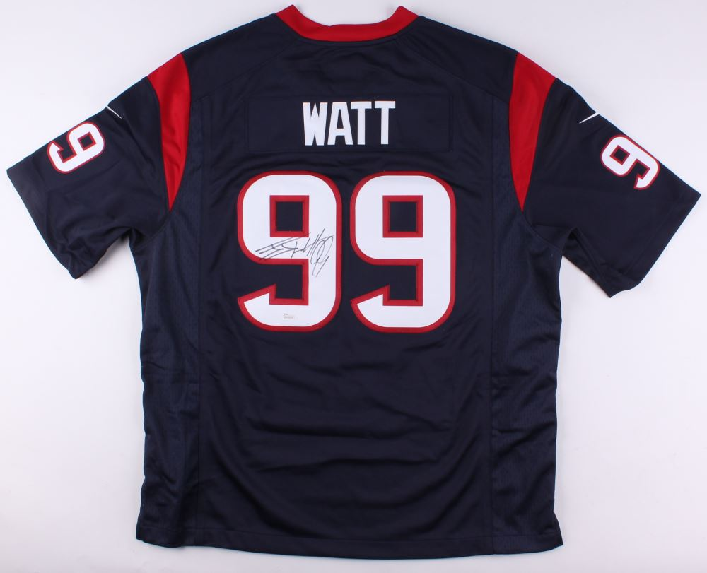 huge selection of e7f97 97d2b J. J. Watt Signed Texans Nike Authentic Jersey (JSA COA)