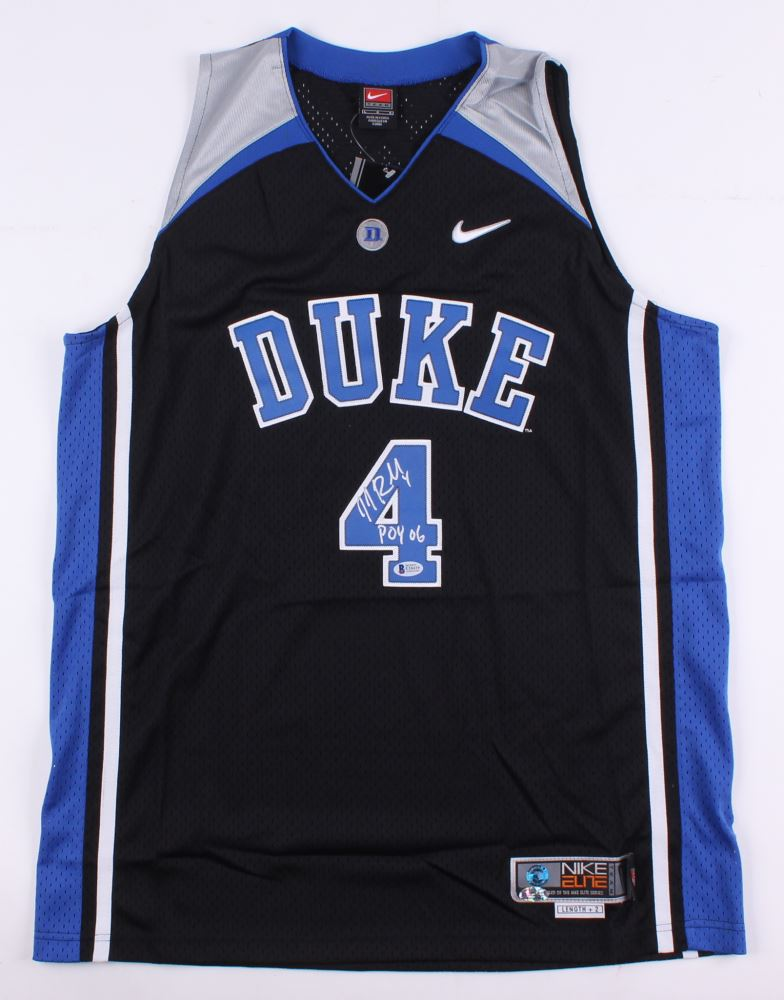 72c8bdc56e4 Image 1 : J.J. Redick Signed Duke Blue Devils Jersey Inscribed