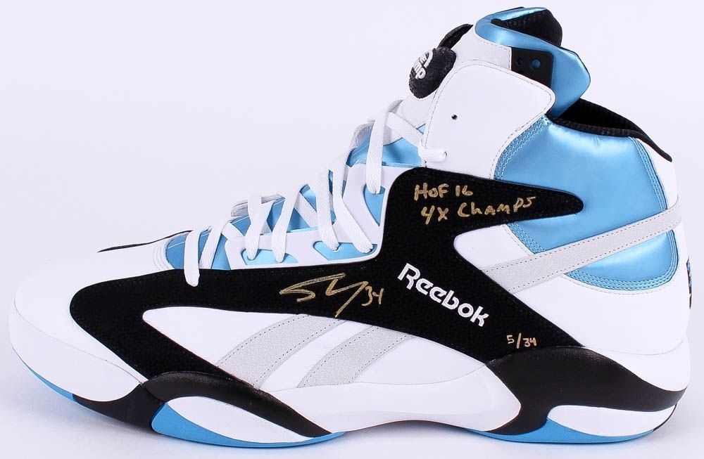 ca88906543ab Image 1   Shaquille O Neal Signed Limited Edition Size 22 Reebok Shoe  Inscribed