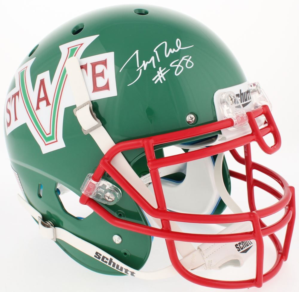 official photos af85f d8084 Jerry Rice Signed Mississippi Valley State Delta Devils Full ...