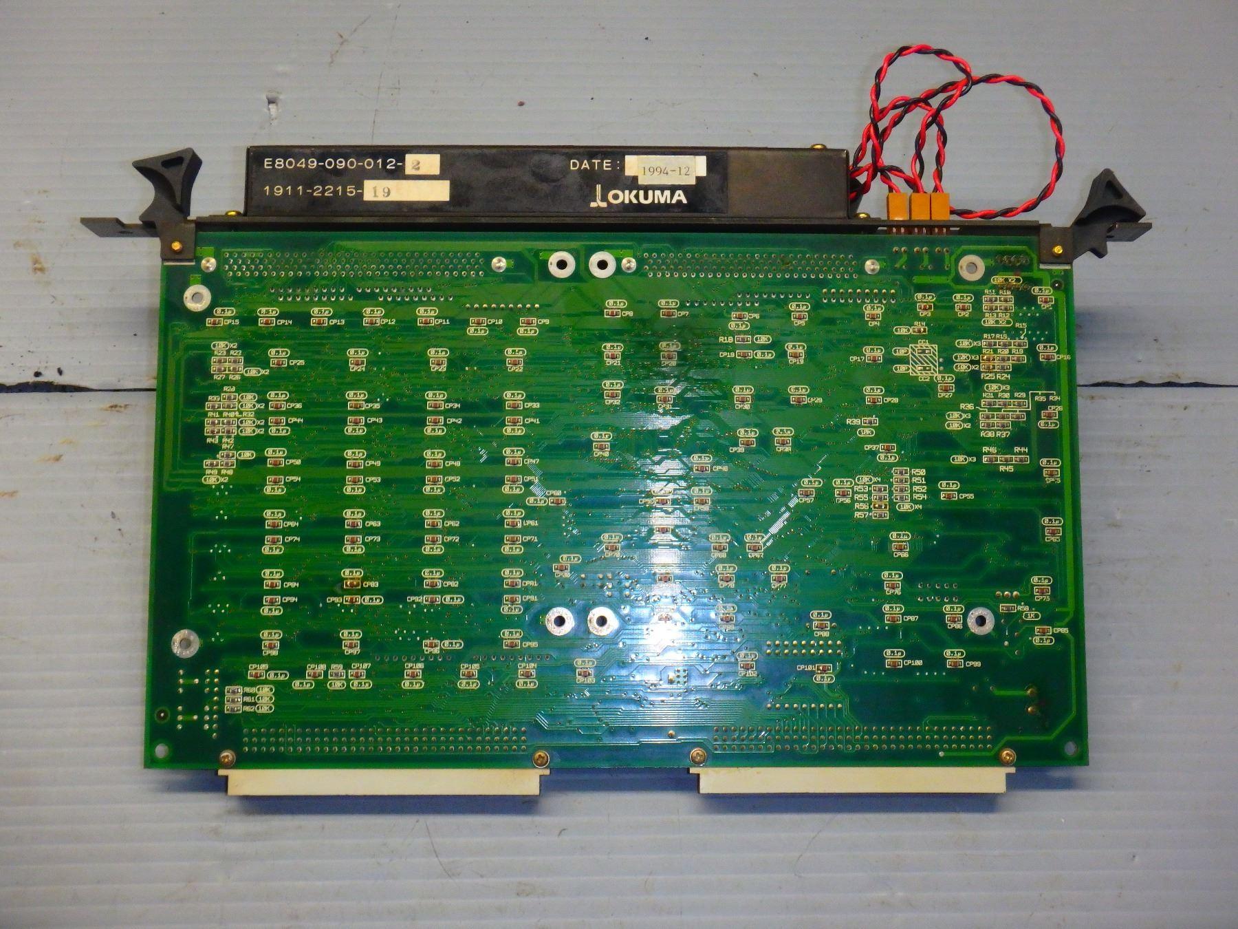 OKUMA E4809-045-166-A OPUS 7000 BATTERY CASSETTE MODULE