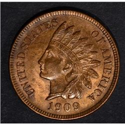 1909 INDIAN CENT, CH BU RB