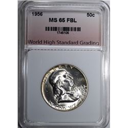 1956 FRANKLIN HALF DOLLAR WHSG