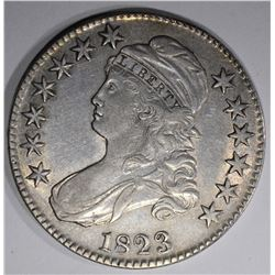 1823 CAPPED BUST HALF DOLLAR