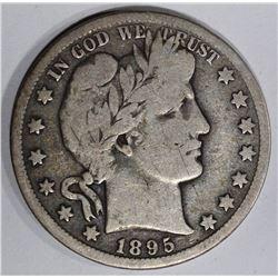 1895-O BARBER HALF DOLLAR  VG-FINE