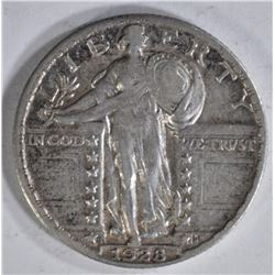 1928-S STANDING LIBERTY QTR