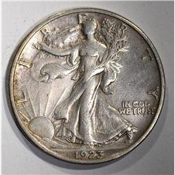 1923-S WALKING LIBERTY HALF XF