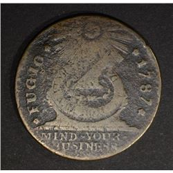 1787 FUGIO CENT  F/VF