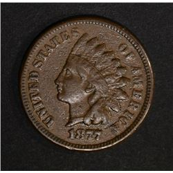 1877 INDIAN CENT  VF