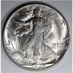 1940-S WALKING LIBERTY HALF DOLLAR, CH BU