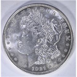 GEM BU 1921-D MORGAN DOLLAR