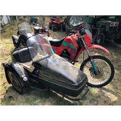 1994 CZ 180 Enduro Motorcycle