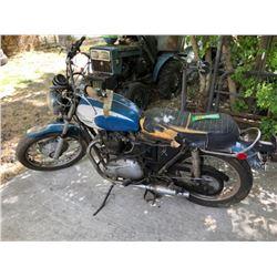 1971 Triumph Bonneville Motorcycle