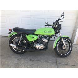 1972 Kawasaki H1 500 Mean Green