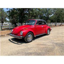 1975 Volkswagen Beetle Convertible