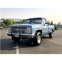 1986 Chevrolet K20 4x4 Pickup