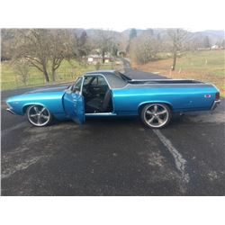 1969 Chevrolet El Camino Custom