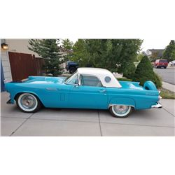 1956 Ford Thunderbird Convertible - Hard top and Soft top