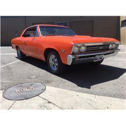 1967 Chevrolet Chevelle 2 Door Hardtop