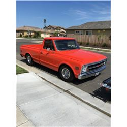 1970 Chevrolet C-10 Truck---Time Lot Selling Saturday 2:00