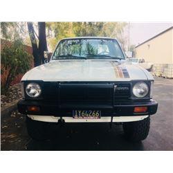 1981 Toyota 4x4 Pickup