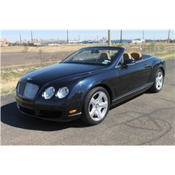 2008 Bentley GTC Convertible
