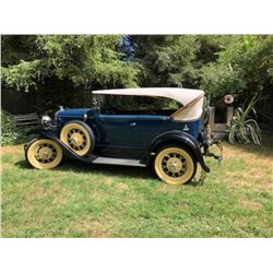 1931 Ford Phaeton 2 Door
