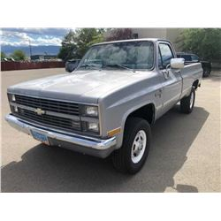 1983 Chevrolet  4x4 pickup-----HAN Charity Car