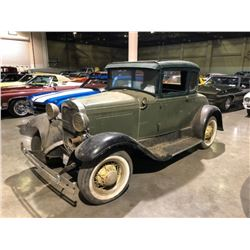 1930 Ford Model A Coupe Barn Find