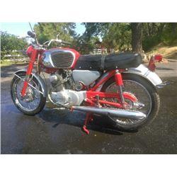 1965 Honda CB 160 Sport Motorcycle