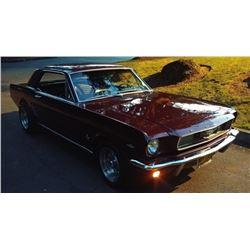 1966 Ford Mustang 2 Door Hardtop