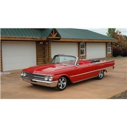 1961 Ford Galaxy Sunliner Convertible