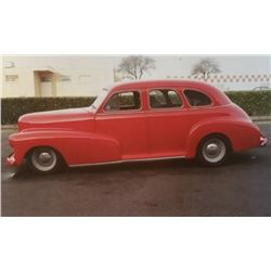 1947 Chevrolet Fleetline Sedan