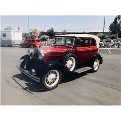 1931 Model A 400 Convertible Sedan